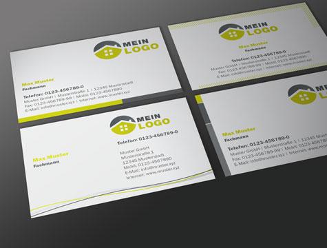 Visitenkarten Geschäftsausstattung Reklame Werkstatt